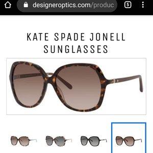 Kate spade Jonell sunglasses havana brown